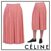 2017SS◆CELINE(セリーヌ)◇Fluid pleated coulotte