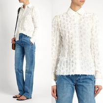 ∞∞see by chloe∞∞ Lace-back fil coupe shirt☆ホワイト