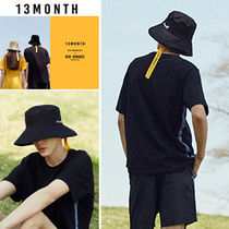 [13MONTH]韓国人気!.17hot summer taping bucket hat (black)