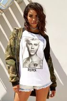 Forever 21 x Justin Bieber ジャスティンビーバー Tシャツ