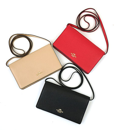【即発◆3-5日着】COACH◆FOLDOVER CLUTCH CROSSBODY◆F54002