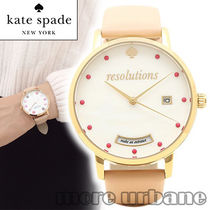 SALE kate spade women's metro vachetta leather watch KSW1236