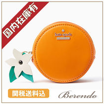 国内発送◆kate spade SPICE THINGS UP ORANGE コインケース
