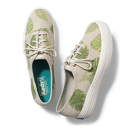 【関税込】KEDS★TRIPLE TROPICAL FERN