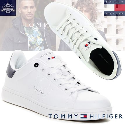 popular brand Tommy Hilfiger leather sneakers sold out last.