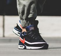 "☆Nike☆ AIR MAX BW ""Olympic""  Black/Midnight Navy/Crimson"