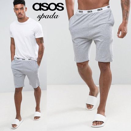 ASOS SALE logo Jersey shorts grey /