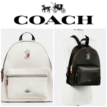 coach limited edition release Mickey Charlie back pack
