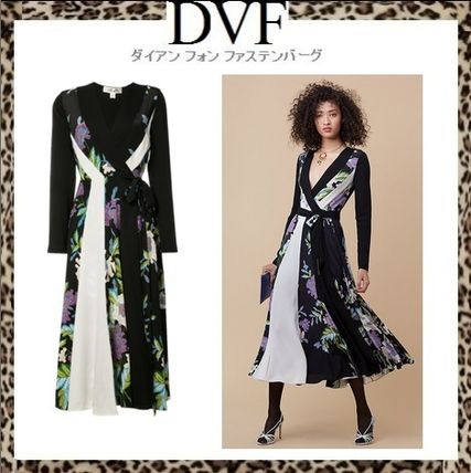 Sale DVF floral print silk wrap dress PENELOPE