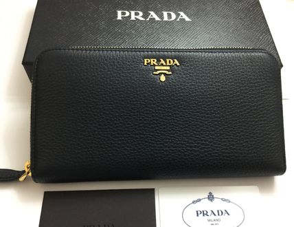 Get new colors Luxury Leather long wallet with PRADA VIP