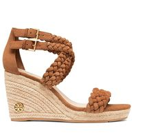 Tory Burch BAILEY ANKLE-STRAP WEDGE ESPADRILLE