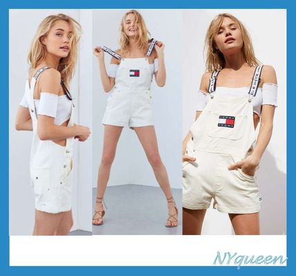"""TOMMY JEANS 90 """"white overalls"""