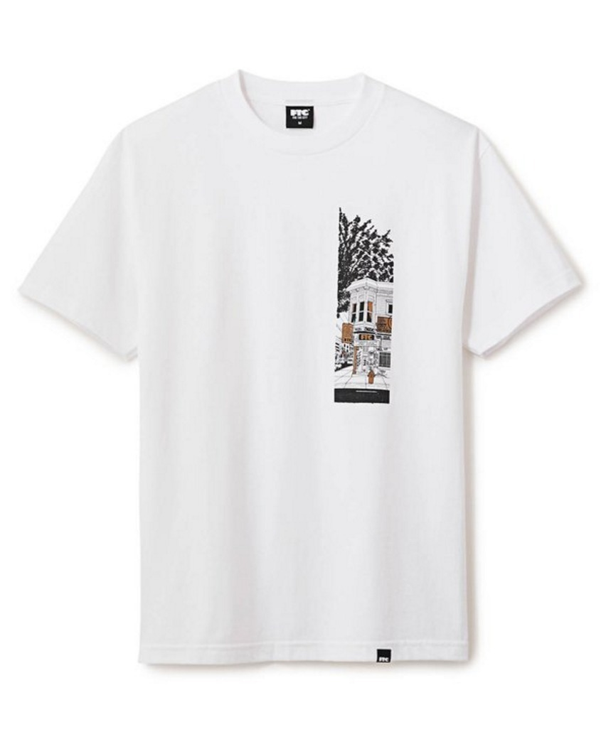 【FTC x MIKE GIANT】☆17SS新作コラボ☆FTC SHOP S/S TEE