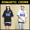 2色ROMANTIC CROWN★RTW Zip up T shirt