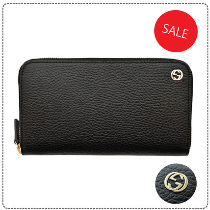 SALE Gucci long wallet: chic, adult cool metal logo