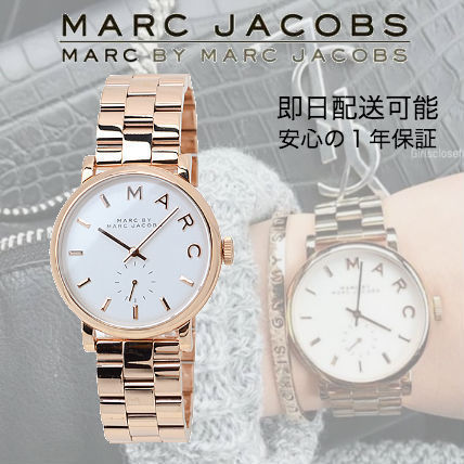 Can be guaranteed with Marc by Marc Jacobs watches MBM3244