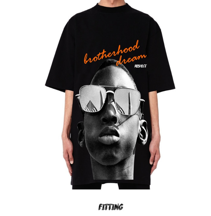 ☆RESPECT☆ [500g] RESPECT BROTHERHOOD DREAM TEE Black
