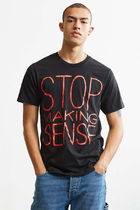 URBAN OUTFITTERS Stop Making Sense クルーネック Tシャツ