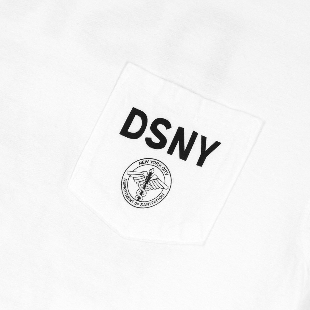 17SS お早めに☆ONLY NY☆DSNY Truck Pocket T-Shirt