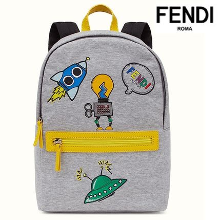 FENDI KIDS★Backpack・グレー*2017SS