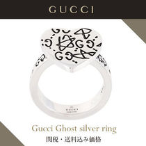 Gucci Ghost silver ring