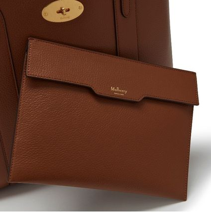 Mulberry トートバッグ 英国発☆Mulberry☆新作☆Bayswater トート☆ポーチ付き(10)