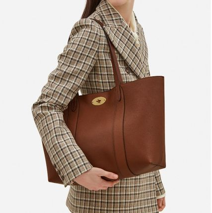 Mulberry トートバッグ 英国発☆Mulberry☆新作☆Bayswater トート☆ポーチ付き(11)