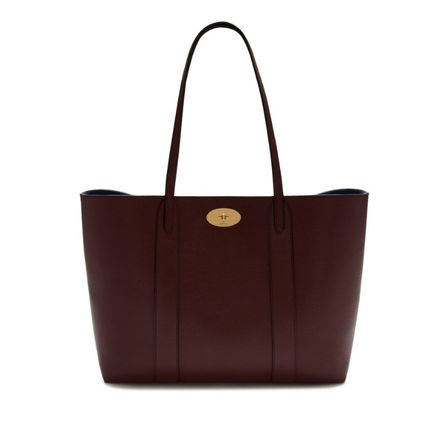 Mulberry トートバッグ 英国発☆Mulberry☆新作☆Bayswater トート☆ポーチ付き(12)