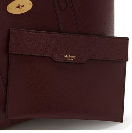 Mulberry トートバッグ 英国発☆Mulberry☆新作☆Bayswater トート☆ポーチ付き(15)