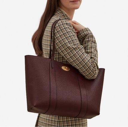 Mulberry トートバッグ 英国発☆Mulberry☆新作☆Bayswater トート☆ポーチ付き(16)