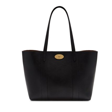 Mulberry トートバッグ 英国発☆Mulberry☆新作☆Bayswater トート☆ポーチ付き(17)