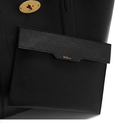 Mulberry トートバッグ 英国発☆Mulberry☆新作☆Bayswater トート☆ポーチ付き(19)