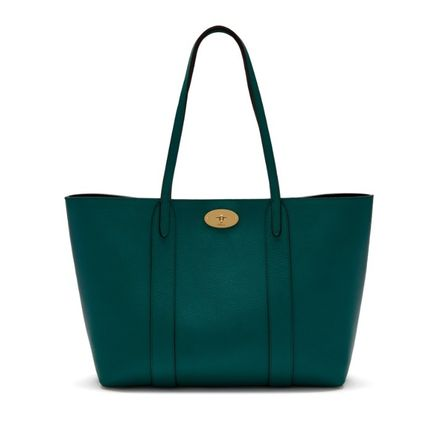 Mulberry トートバッグ 英国発☆Mulberry☆新作☆Bayswater トート☆ポーチ付き(2)