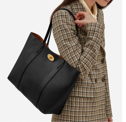 Mulberry トートバッグ 英国発☆Mulberry☆新作☆Bayswater トート☆ポーチ付き(20)