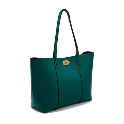 Mulberry トートバッグ 英国発☆Mulberry☆新作☆Bayswater トート☆ポーチ付き(4)