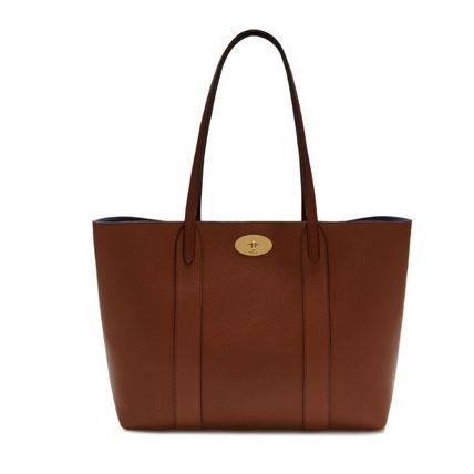 Mulberry トートバッグ 英国発☆Mulberry☆新作☆Bayswater トート☆ポーチ付き(7)