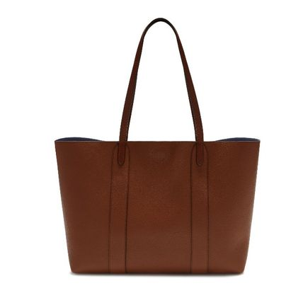 Mulberry トートバッグ 英国発☆Mulberry☆新作☆Bayswater トート☆ポーチ付き(8)