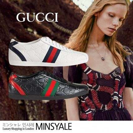 Guccissima leather sneaker[London department store new item]