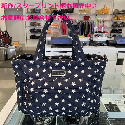 MARC JACOBS マザーズバッグ 新作!MARC JACOBS ナイロンマザーズバッグ オムツ替えシート付(15)