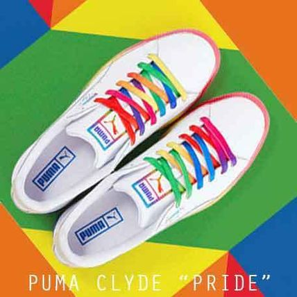 official photos 91089 65aa8 PUMA CLYDE PRIDE クライド プライド