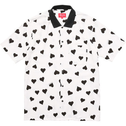 13 weeks17 Supreme Hearts Rayon Shirt
