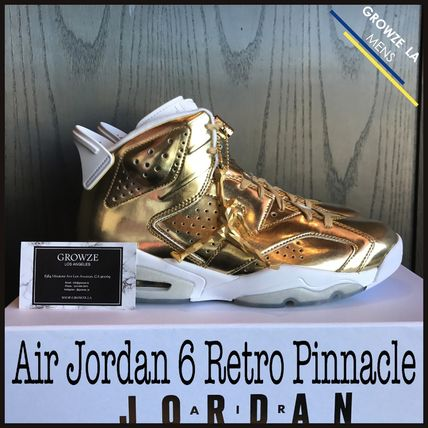 ★【NIKE】US10 28cm ナイキ Air Jordan 6 Retro Pinnacle GOLD