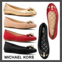 SALE◆MK◆バレエフラット◆Alice Metallic Leather Ballet Flat