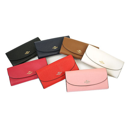 3-5 days at COACH cross grain leather long wallet F54009