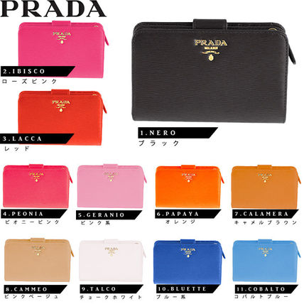 authentic guarantee Italy from PRADA bifold wallet 1ML225