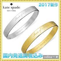 セレブ愛用者多数☆kate spade new york☆Idiom Bangle Bracelet