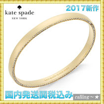 セレブ愛用者多数☆kate spade new york☆CrystalBangleBracelet
