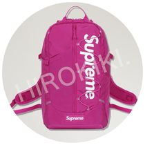 17SS★Supreme Backpack Box Logo バックパック Magenta ピンク
