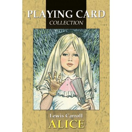 Alice in Wonderland playing cards made in Italy LO SCARABEO