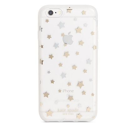 Kate Spade Scattered Stars iPhone 7-star pattern iPhone case